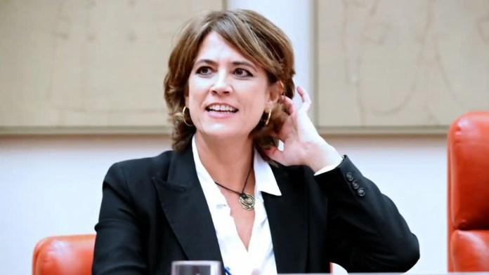 Resultado de imagen para Fotos de la ministra de Justicia, Dolores Delgado,