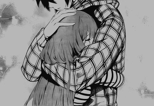 Hugging Couple Drawing Chibi Anime Couple Hug...