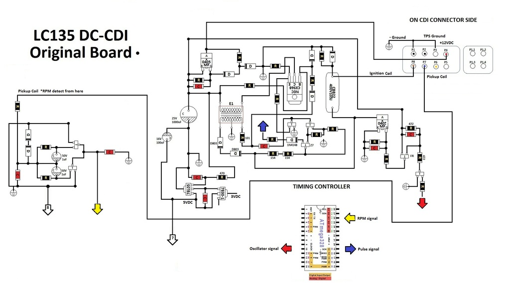 6 Volt Dc Cdi Wiring Diagram, 6, Free Engine Image For