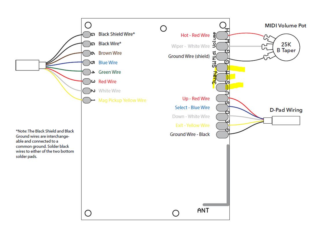 Wiring Diagram Guitar Godin | Two Sd Wiring Diagram |  | Wiring Diagram