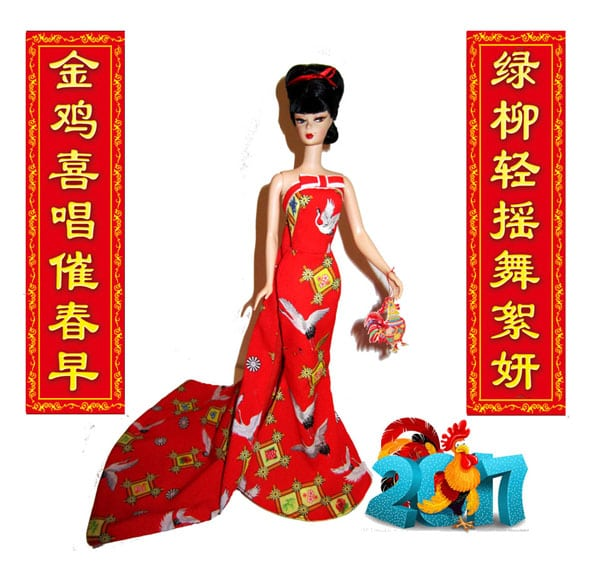 Chinese New Year Barbie
