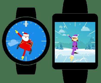 google santa tracker on android gear