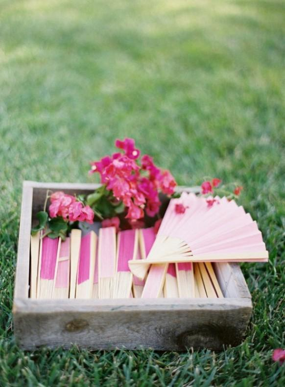 Creative & Unique Summer Wedding Favor Ideas ♡ Outdoor Wedding