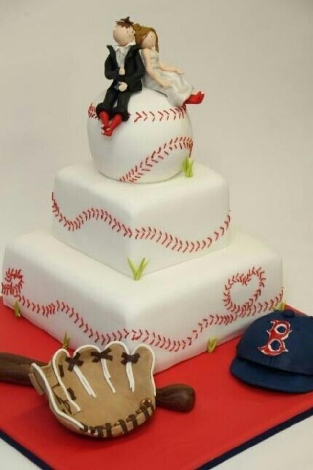 Wedding Cakes  Baseball Wedding 2050293  Weddbook