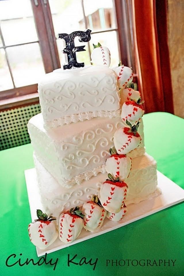 Wedding Cakes  Baseball Wedding Cake 2050294  Weddbook