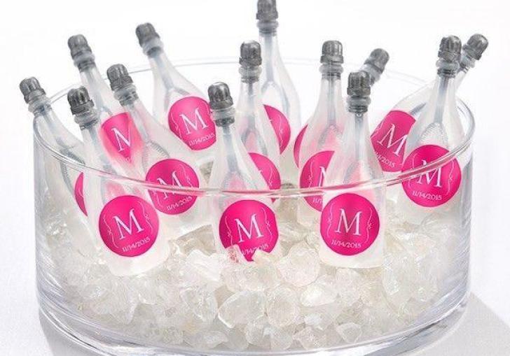 Personalized Wedding Bubble Favors