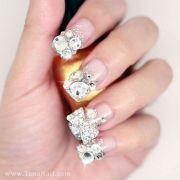 hochzeits-nail design - nagel-kunst