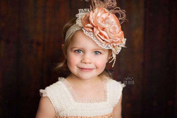 toddler headband flower girl headbands flower headband for flower girls flower girl hair accessories flower girl dress accessories new