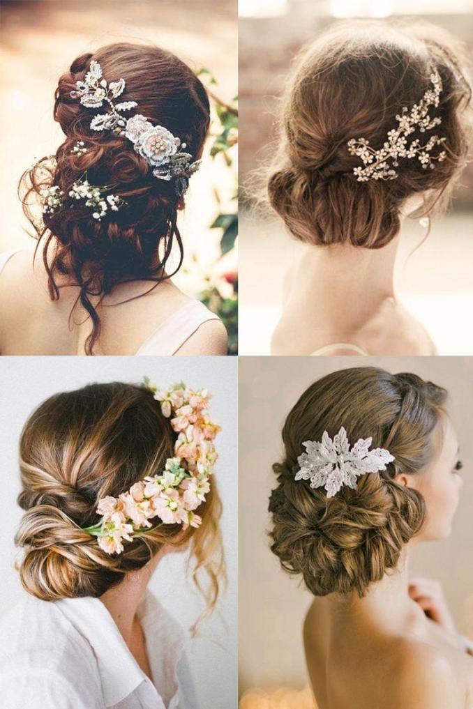 18 most romantic bridal updos ♥ beautiful wedding
