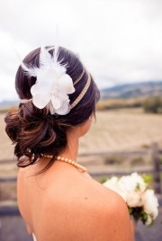 unique wedding hair ideas rustic