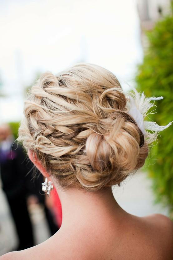 Wunderschöne Hochzeit Frisuren ♥ Hochzeits Hochsteckfrisur Frisur