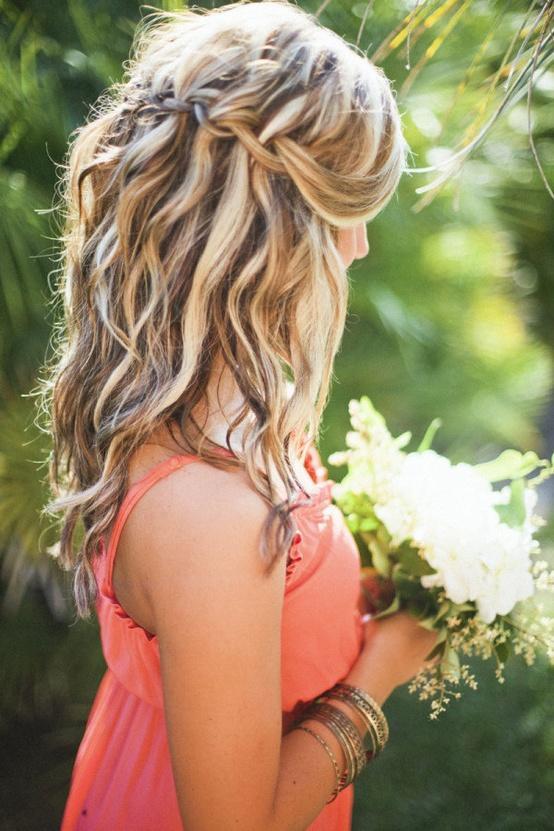 Messy Französisch Braid Hochzeit Frisuren ♥ Hochzeit Hair
