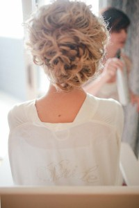 Updo Hair Model - Wedding Wavy Updo Hairstyle #891017 ...