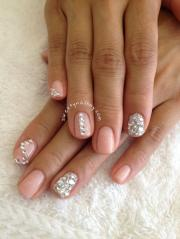wedding nail design - bridal