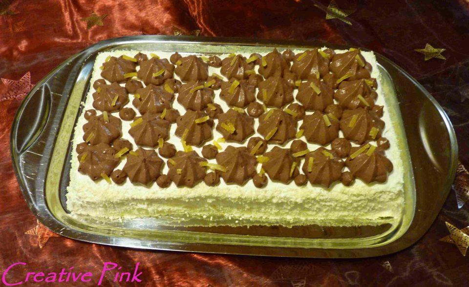 Schoko-Mango-Torte