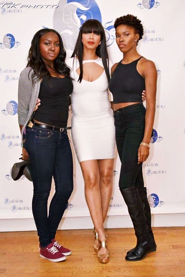 Founder & CEO of Fashion Fanatixx, Ms. Toy (Middle)