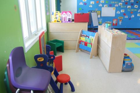 Inside one of our 6 classrooms
