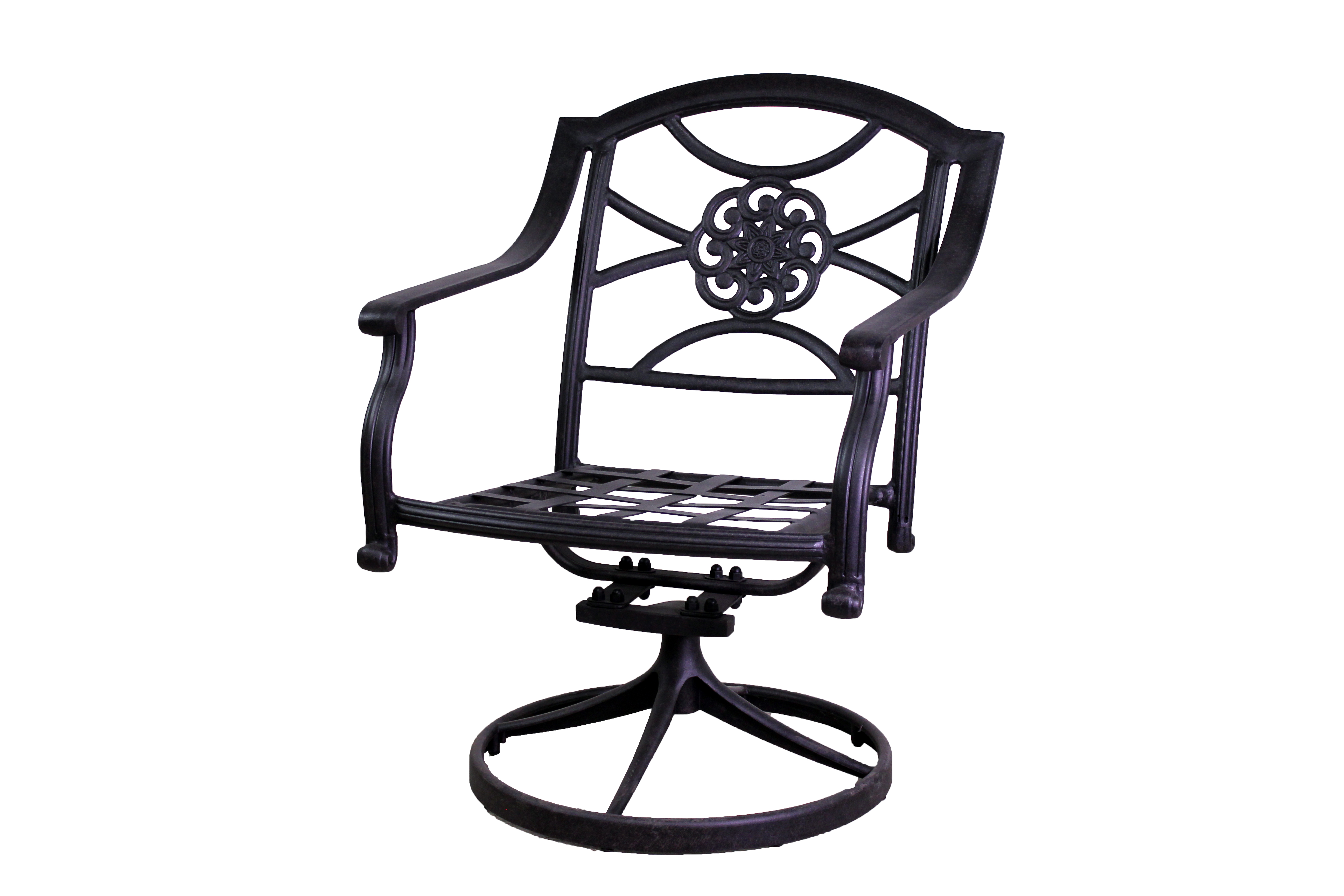 Rosemead Collection 4 Dining Chairs 2 Swivel Rockers And