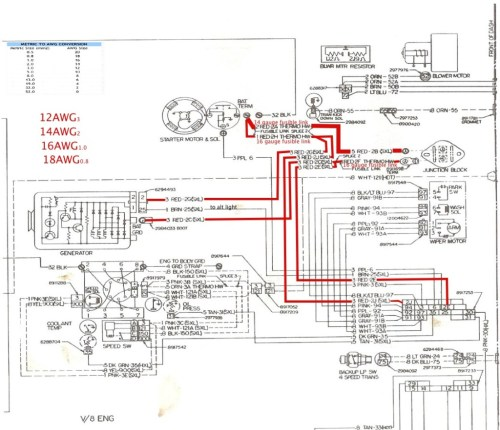 small resolution of 1974 chevy c10 ignition wiring