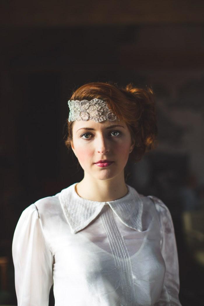 Debbie Carlisle head piece