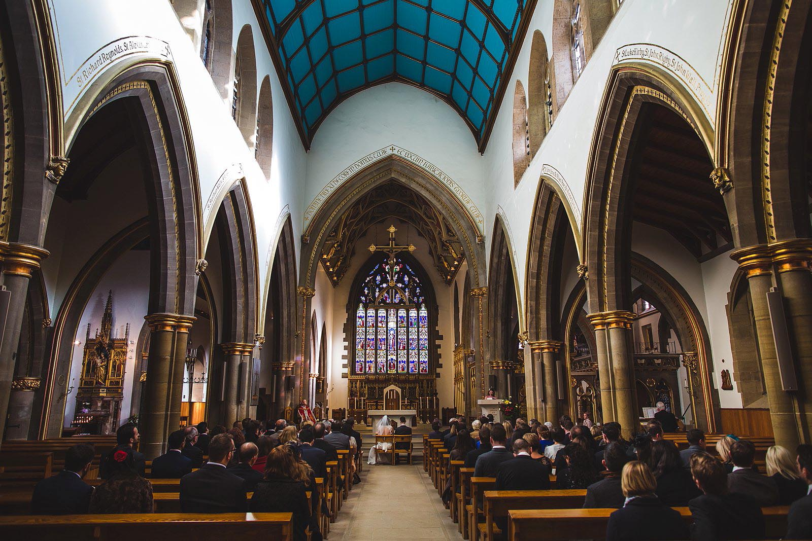 Sheffield Cathedral wedding