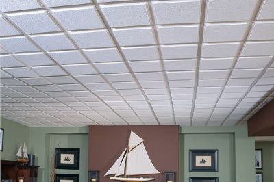 Cascade Homestyle Ceilings Patterned Paintable 2' X 2