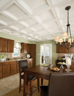 Easy Elegance Coffer Easy Elegance Coffered Paintable 2' X