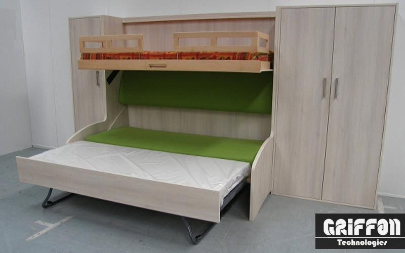 griffon meubles lit escamotable lits escamotables lit