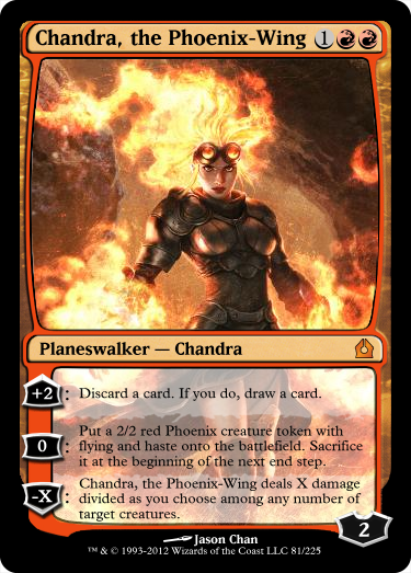 Chandra, Phoenix-Wing