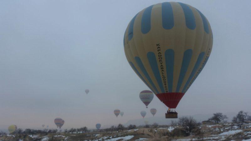 Каппадокия зимой, воздушные шары и другие достопримечательности