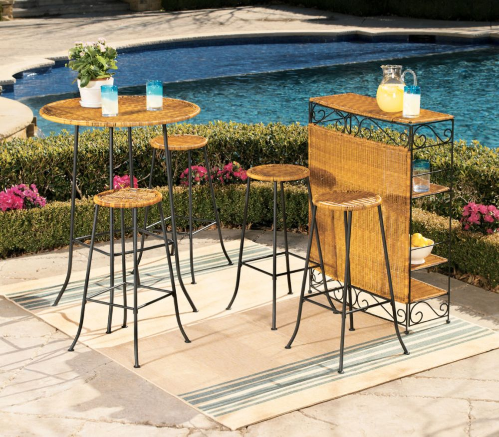 Affordable Outdoor Bar Stools & Tables Martha Stewart
