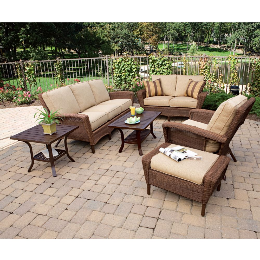 Cheap Outdoor Cushioned Chairs & Sofas Martha Stewart