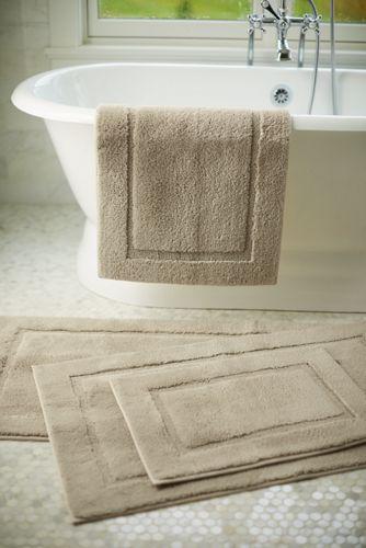supima cotton non skid double sink bath