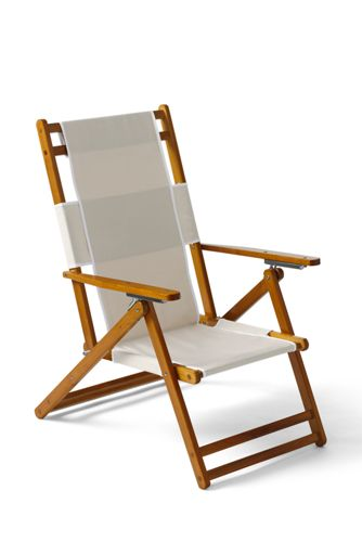 Folding Wood Beach Chair Wooden Lounge Chair