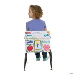 Chair Covers Oriental Trading Ergonomic Kneeling Color Your Own Quotit 39s All About Me Quot Coloring