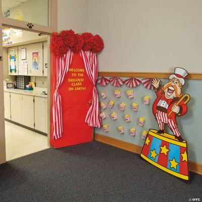 Carnival door decoration idea door decoration ideas classroom