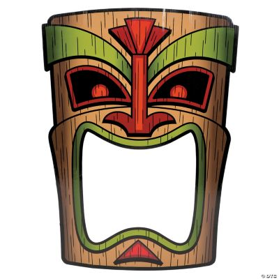 Tiki Photo Prop Photo Booth Props Costume Accessories