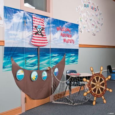 Pirate Door Dcor Idea, Door Decoration Ideas, Classroom