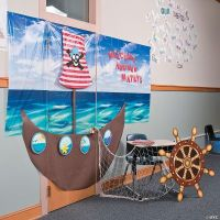 Pirate Door Dcor Idea, Door Decoration Ideas, Classroom ...