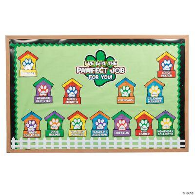 also paw print classroom job chart rh orientaltrading