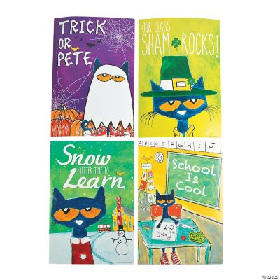 pete the cat holiday seasonal posters oriental trading