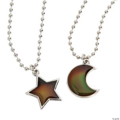moon star mood charm