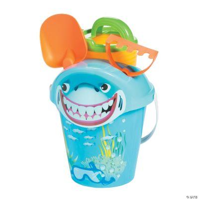 shark sand bucket set