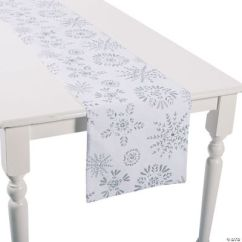 Sofa Table Runners Small Sectional Without Chaise Winter Wonderland Runner