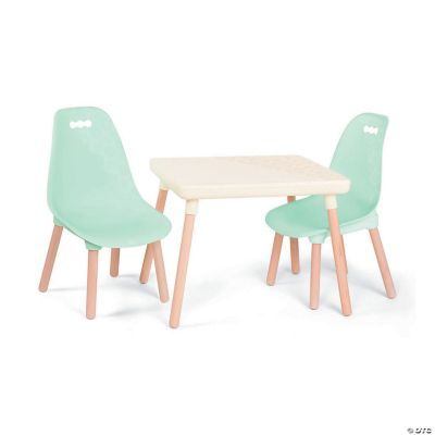just chairs and tables ergonomic arm kid century modern table chair set