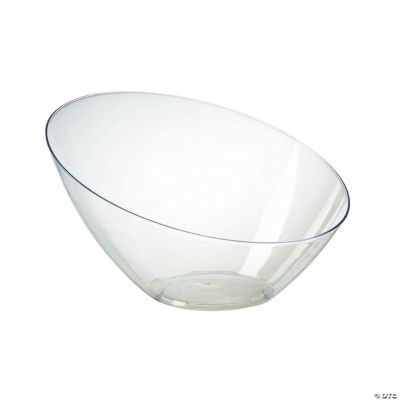 large clear angle bowl