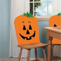 Chair Covers Oriental Trading Wedding Chairs For Bride And Groom Jack-o'-lantern - Discontinued