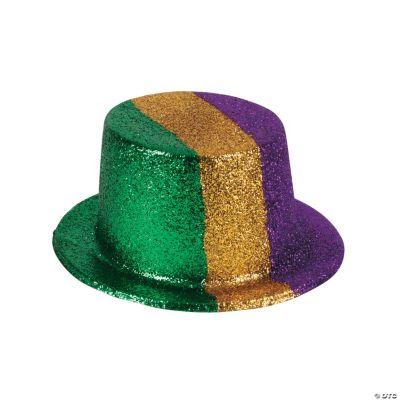chair covers oriental trading modern slipper mardi gras glitter top hats