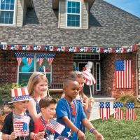 Patriotic Outdoor Decorating Kit - Oriental Trading