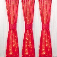 Chair Covers Oriental Trading Folding En Espanol Red Gossamer